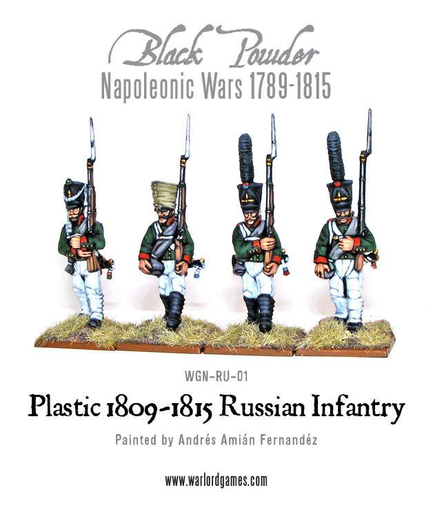 1809-15 - 28mm Black Powder Warlord Games Napoleonic Russian command